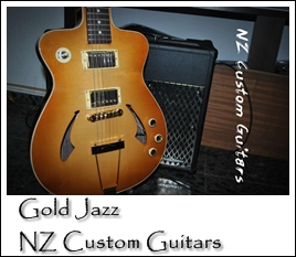 Gold Jazz Custom NZ