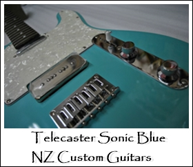 Telecaster Sonic Blue NZ Custom Guitars