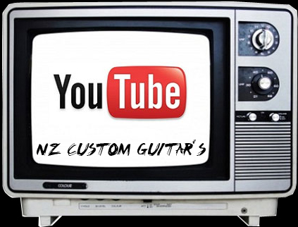youtube canal nz custom guitars
