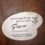 Etiqueta Gaspar 1975