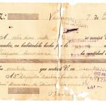 Letra cambio 23 enero 1925