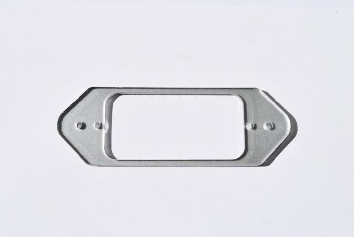 Marco pastilla TV Jones- EM3 Dogear Style Silver – P90