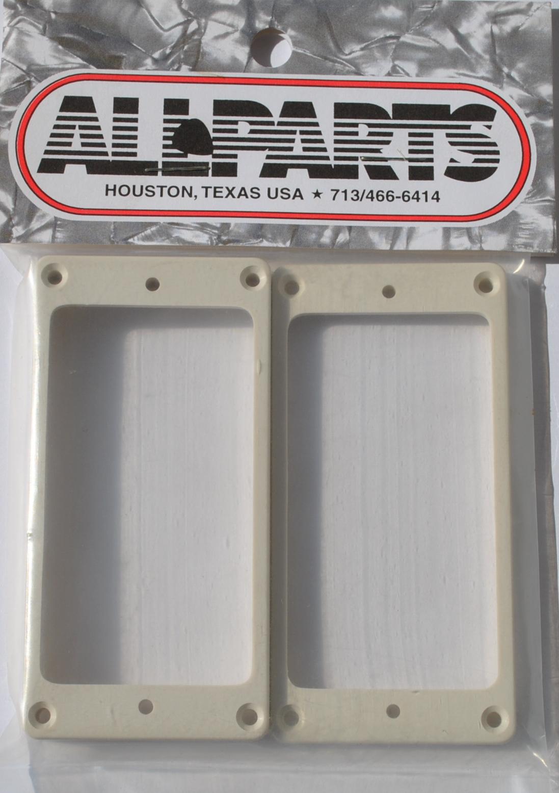 Marcos Pastillas Humbucker Blanco plástico plano