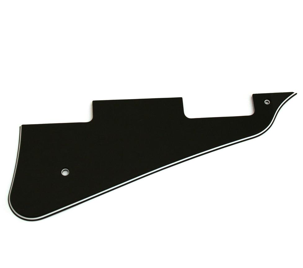 Golpeador Tipo Gibson Les Paul Negro 3 Capas