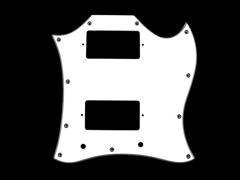 Golpeador Tipo SG Blanco 3 capas 11 agujeros